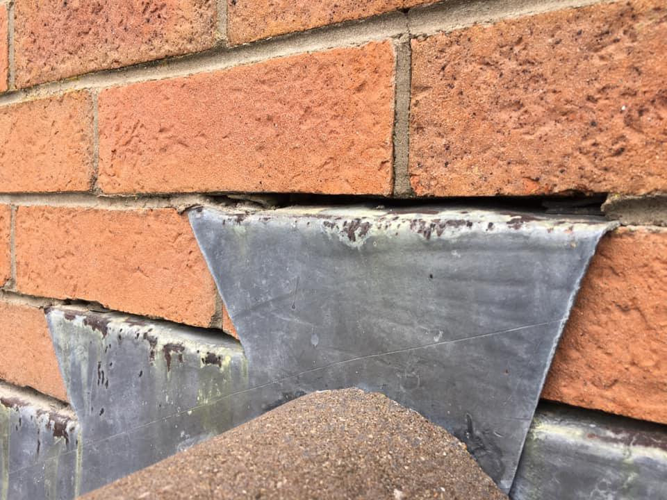 Total Home & Garden Handyman Services | Handyman Crewe | Lead Flashing Before