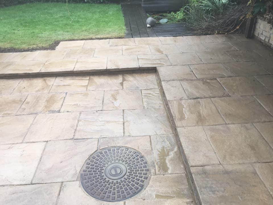 Total Home & Garden Handyman Services   Handyman Crewe   Patio Re-laying